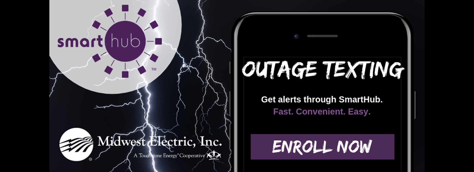 Midwest offers outage text notifications