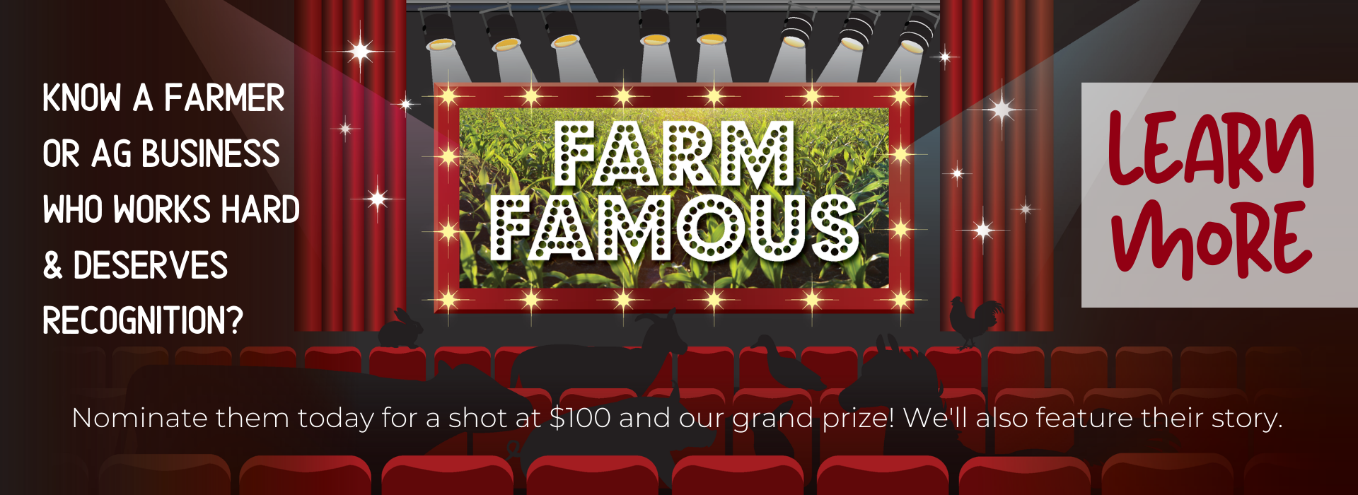 Nominate a farmer today for Midwest Electric's Farm Famous campaign!