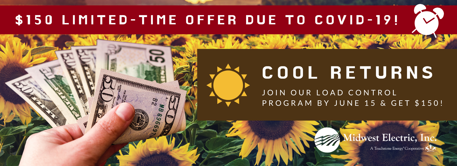 Join Cool Returns for a $150 limited time rebate!