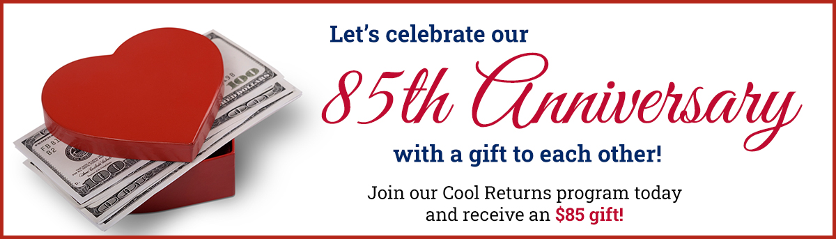 Sign up for Cool Returns and get $85 from Midwest Electric