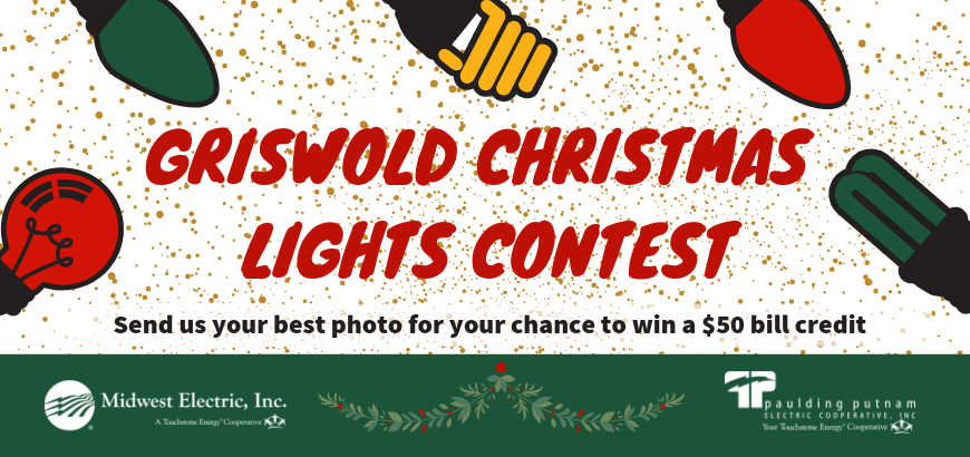 Web banner for Griswold contest